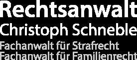 Rechtsanwalt Christoph Schneble